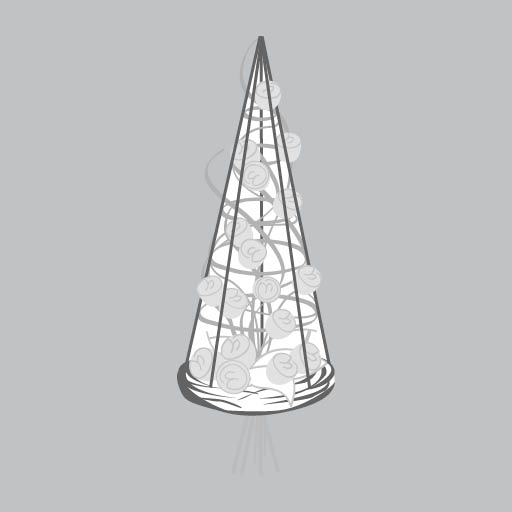 Pyramidenstrauß